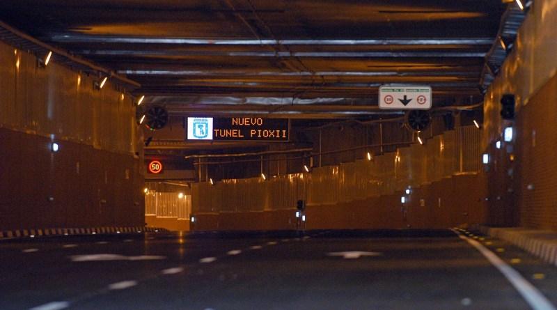 Finalizan las obras en el túnel de Pío XII bajo la estación de Chamartín