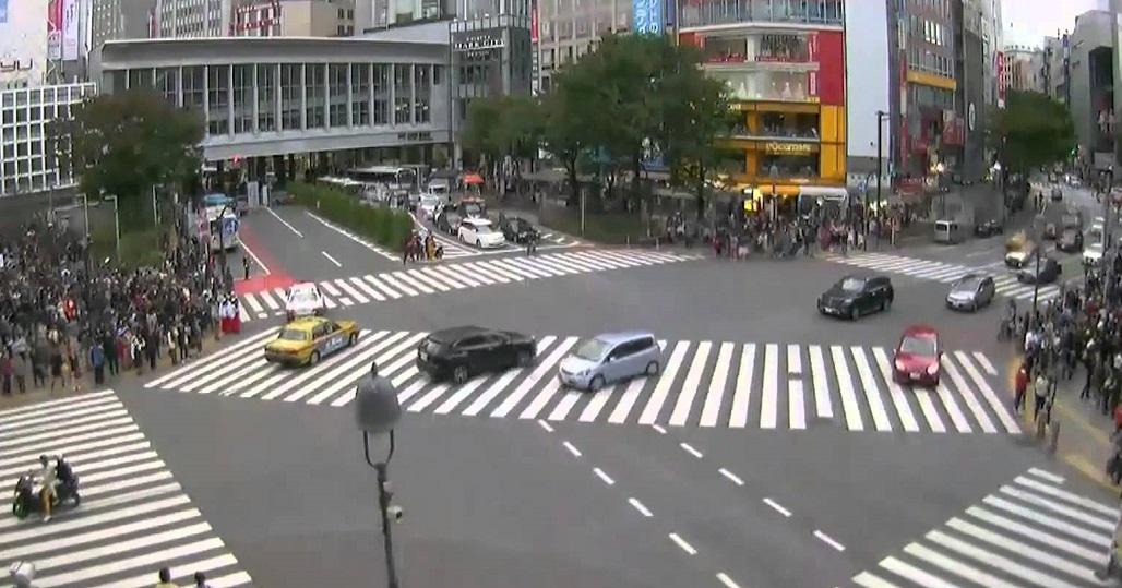 La madrileña Plaza de España contará con un paso de peatones en diagonal como el de Tokio