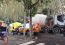 Un motorista de 38 años muere tras ser atropellado por un camión en el Paseo del Prado