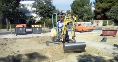 Comienza la 3º fase de las obras en Ciudad Pegaso: ajardinamientos, nuevos caminos y un circuito de calistenia