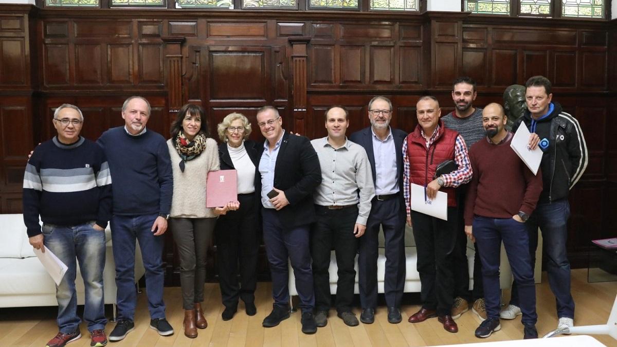 El Ayuntamiento de Madrid y CCOO, UGT y UPM firman el nuevo convenio de la Policía Municipal