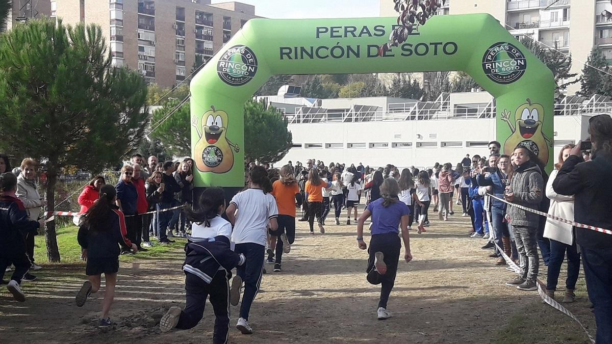 4.755 escolares participan en la XIII edición del Cross Escolar de Hortaleza