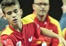 El madrileño Miguel Ángel Pantoja bronce en el 2018 Hungarian Junior & Cadet Open de tenis de mesa