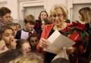 Manuela Carmena recibe a 250 niños que le habían escrito cartas con sugerencias y peticiones