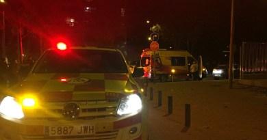 Un joven de 19 años herido grave tras ser apuñalado en Usera