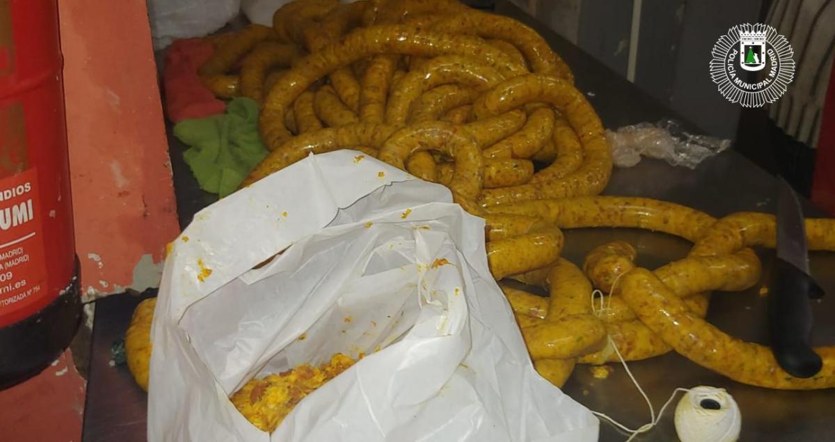 Inmovilizadas 1,5 toneladas de carne en un local de Usera con deficientes condiciones higiénico-sanitarias