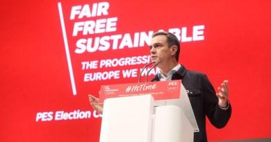 Pedro Sánchez llama a la movilización en el Congreso de los socialistas europeos en Madrid