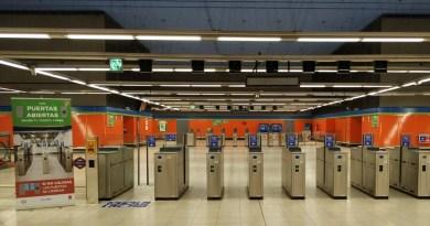 Metro de Madrid abandona el proyecto de tornos abiertos ya instalado en 35 de sus estaciones