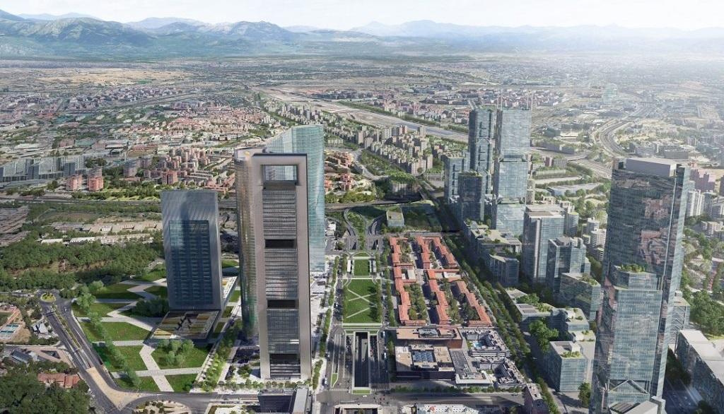 El final de la Castellana se soterrará para crear en superficie un parque y un intercambiador en La Paz