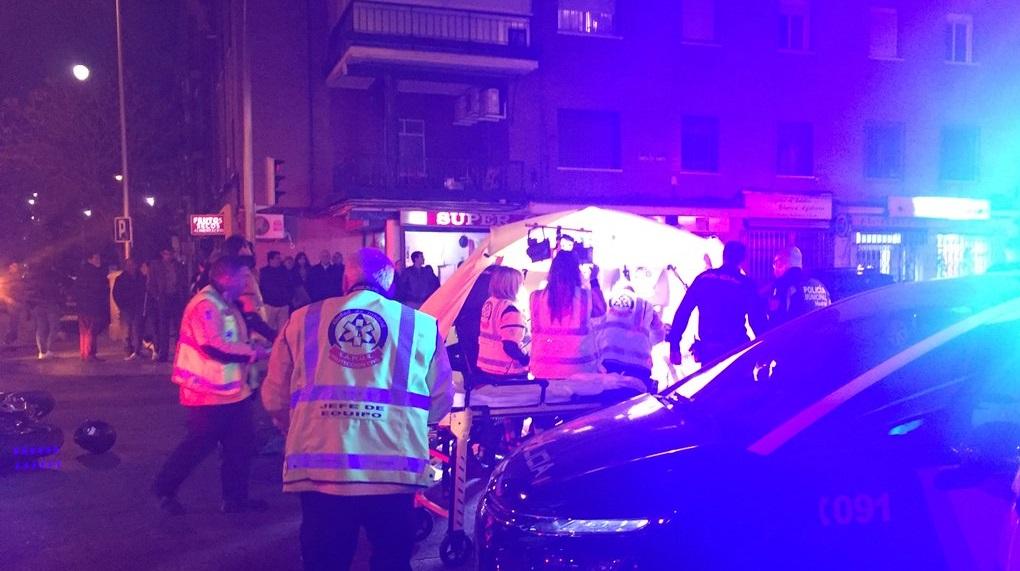 Un motorista muerto y otro herido grave tras una brutal colisión en Latina