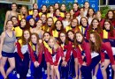 Sincro Retiro acaricia el título y se hace con el subcampeonato de España infantil de natación artística