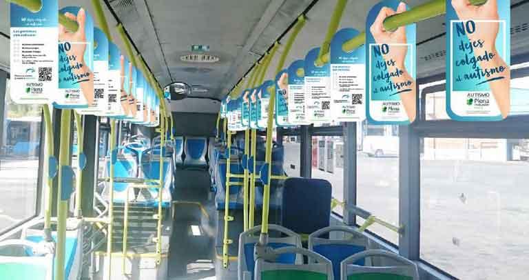 22 autobuses de 8 líneas de la EMT sensibilizan desde hoy sobre el autismo para superar estereotipos