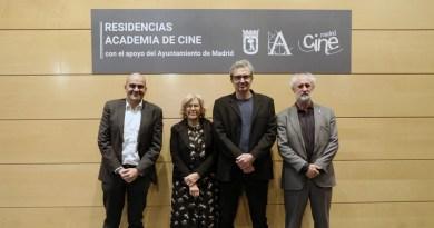 Academia de Cine lanza un programa de residencias con apoyo del Ayuntamiento de Madrid