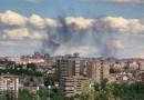 Un incendio en San Blas-Canillejas provoca una gran columna de humo visible en todo Madrid