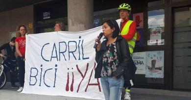 Madrid en Pie promete la 'Red Ciclista 2021', carril bus en la M-35 y recuperar la participación en Metro