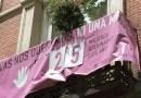 Retiran las pancartas contra las violencias machistas y por los refugiados de los edificios municipales