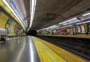 Metro de Madrid cerrará los andenes de línea 4 de la estación de Bilbao a partir del sábado