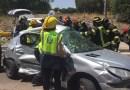7 personas heridas, una de ellas muy grave, tras un accidente múltiple en Carabanchel