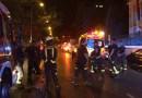 Un motorista de 50 años herido tras quedar atrapado debajo de un coche en La Castellana