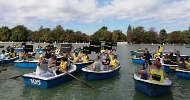 Amnistía Internacional reclama en El Retiro un «puerto seguro» para el barco del Open Arms