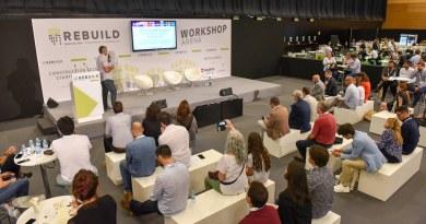 Madrid acoge desde este martes 'REBUILD 2019', el evento de innovación del sector de la edificación