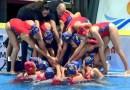 Las madrileñas Sofía Díaz, Lucía Gómez y Paula Camus, quintas en el Mundial de waterpolo tras ganar a EEUU