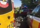 Muere un motorista de 51 años tras colisionar con un turismo en la calle Alcalá