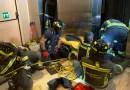 Un hombre de 40 años herido tras quedar atrapado en el hueco de un ascensor en La Castellana