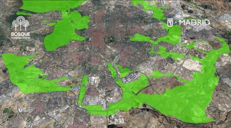 El Ayuntamiento de Madrid lanza un concurso internacional para los 75 km de Bosque Metropolitano