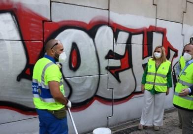Madrid endurecerá las multas por pintadas y por no recoger los excrementos del perro