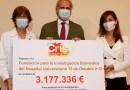 La Fundación CRIS dona 3,2 millones de euros al Hospital 12 de Octubre para la investigación del cáncer