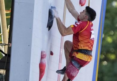 Alberto Ginés, con 18 años, medalla de oro en el debut de la escalada como deporte olímpico