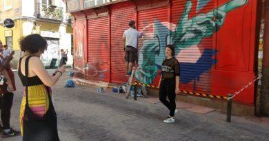 ¡Pinta Malasaña!: 70 artistas inundan de color este domingo el centro de Madrid