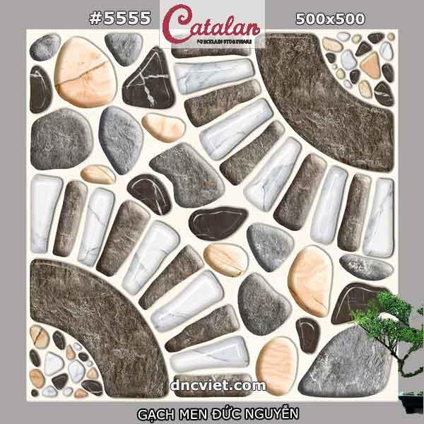 gạch lát sân vườn 50x50 catalan 5555
