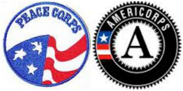 Peace Corps vs. AmeriCorps