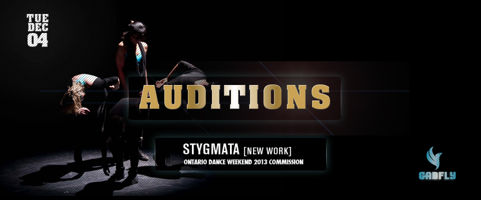 Audition for Ballet Dancers – New Show Stygmata