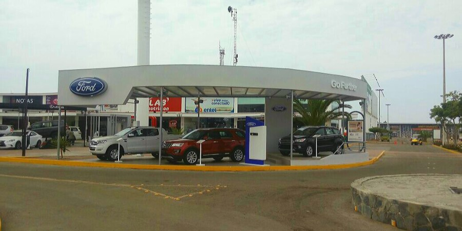 Ford Perú presenta las últimas novedades de la marca en el Boulevard de Asia