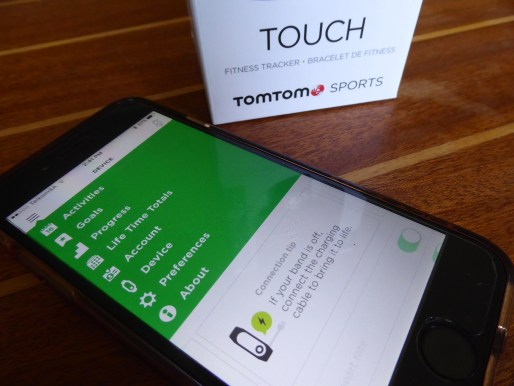 Teeny tiny TomTom Touch - Gadget Gal