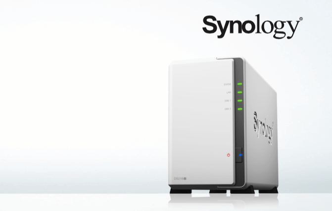 Synology DS218j – NAS your average