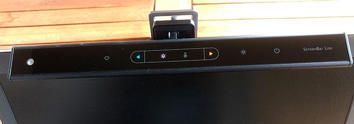 Benq Screenbar Lite Bedienpanel
