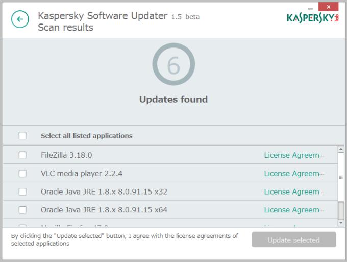 Kaspersky Security Scan4
