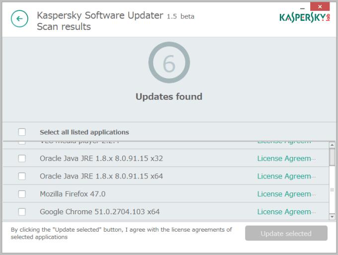 Kaspersky Security Scan5