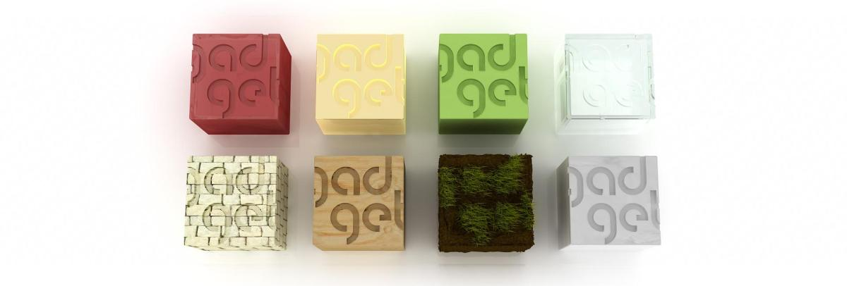 3D Grafik gadget Strategie + Design