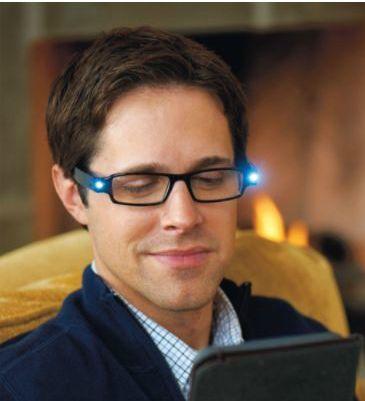 節電に最高レベルのLED読書メガネ