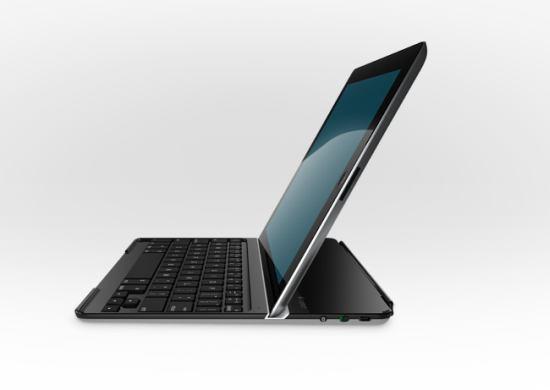 待ってました!超薄型のキーボード型iPadスマートカバー Logitech Ultrathin Keyboard Cover