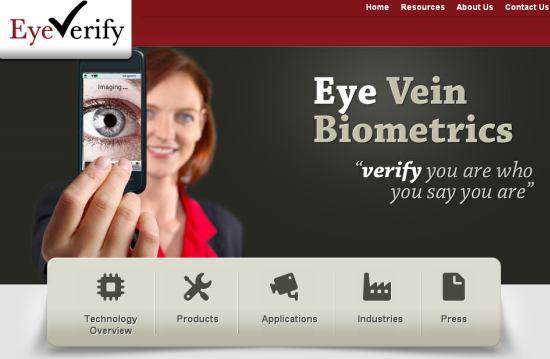 目の血管とiPhoneをパスワード代わりになる、生体認証システム「EyeVerify」