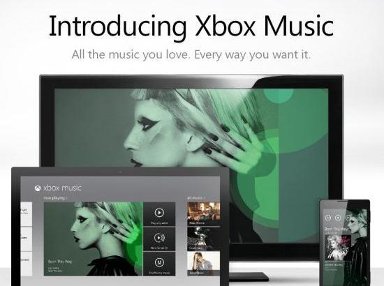 マイクロソフトが音楽サービス「Xbox Music」をスタート、3000万曲聴き放題でクラウド対応