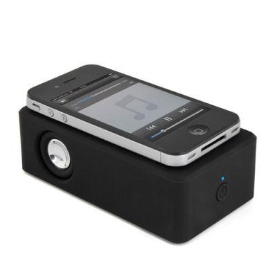 置くだけスマホの音楽を増幅Touch Amp