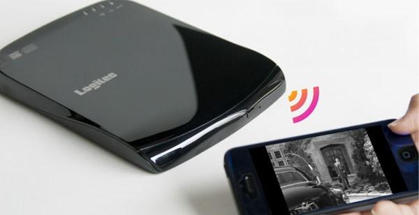 国内初!スマホ、タブレットでDVDがみれるようになるWiFi搭載DVDドライブ