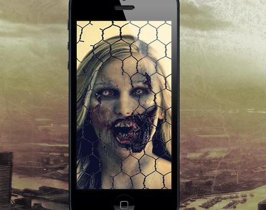 """顔写真を""""ゾンビ化""""するアプリゾンビブース! 画像の目が動いてリアル!"""
